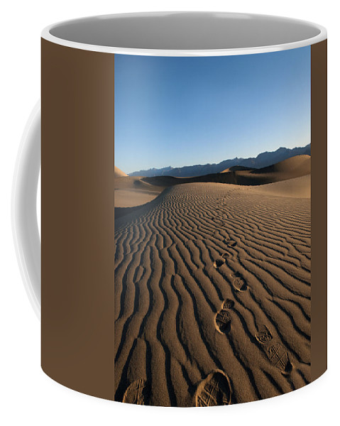 Dunes Coffee Mug featuring the photograph Walk This Way. No. This Way. by Joe Schofield