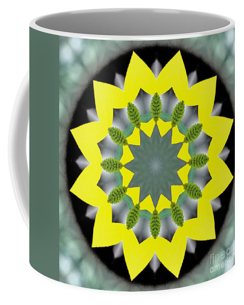 Background Coffee Mug featuring the photograph Walk Through The Woods by Alan Look