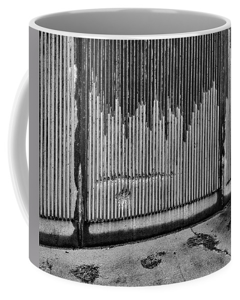 Wall Coffee Mug featuring the photograph Walls Are Unloved by C H Apperson