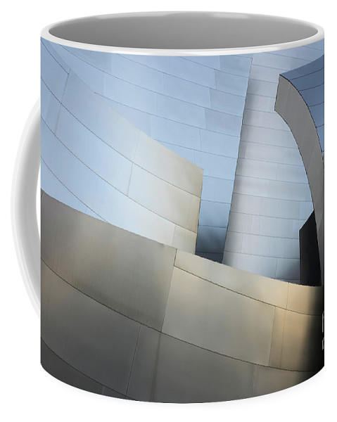Disney Coffee Mug featuring the photograph Walt Disney Concert Hall 1 by Bob Christopher