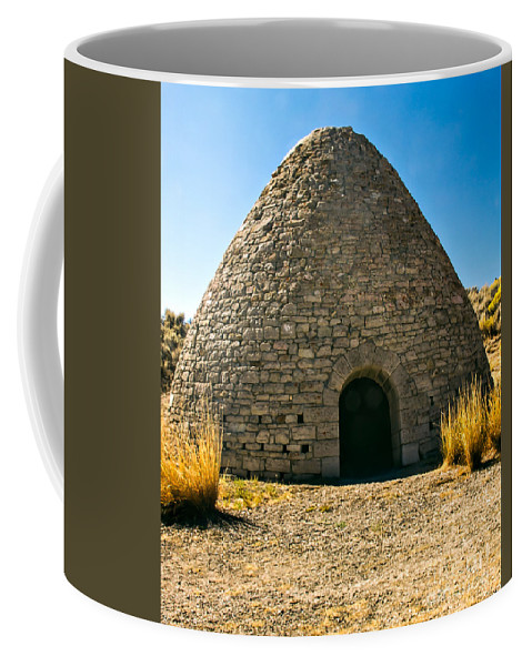 Ward Charcoal Ovens State Historic Park Coffee Mug featuring the photograph Ward Charcoal Oven by Robert Bales