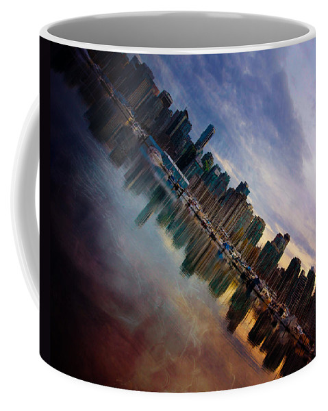 Vancouver Coffee Mug featuring the photograph Warming Ice by The Artist Project