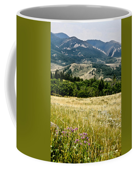 Wilderness Coffee Mug featuring the photograph Washake Wilderness by Kathy McClure