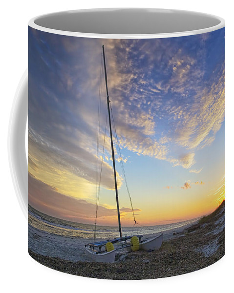 Beach Coffee Mug featuring the photograph Washed Ashore by Phill Doherty