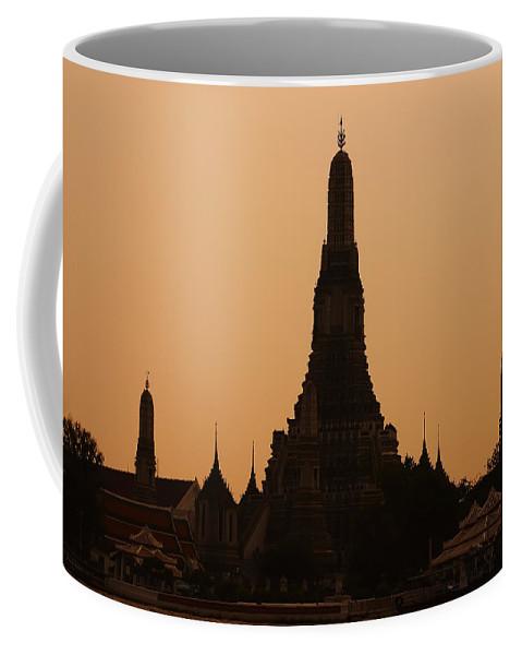 3scape Photos Coffee Mug featuring the photograph Wat Arun by Adam Romanowicz