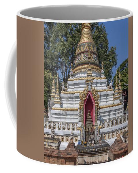 Scenic Coffee Mug featuring the photograph Wat Chai Monkol Phra Chedi Buddha Niche Dthcm0863 by Gerry Gantt