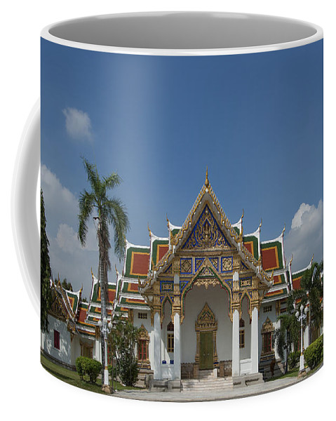 Bangkok Coffee Mug featuring the photograph Wat Phrasri Mahathat Ubosot Dthb1462 by Gerry Gantt