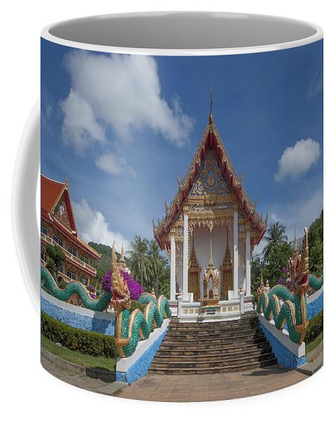 Scenic Coffee Mug featuring the photograph Wat Suwan Khiri Khet Ubosot Dthp265 by Gerry Gantt