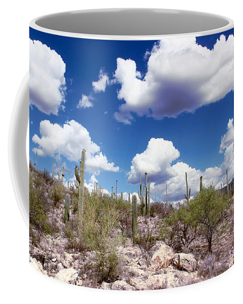 Beautiful Day Coffee Mug featuring the photograph Watching The Clouds Go By by Kume Bryant