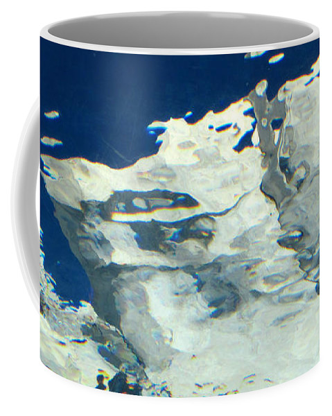 Water Coffee Mug featuring the photograph Water Abstract 1 by Mary Bedy