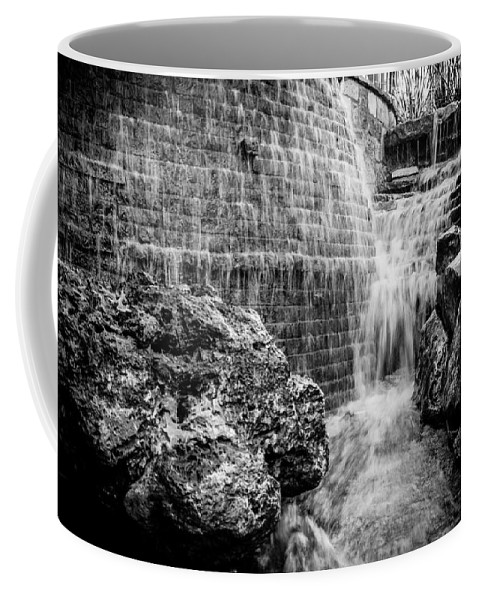 Downtown Coffee Mug featuring the photograph Water At The River by Melinda Ledsome