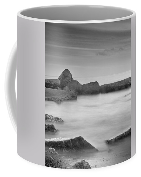 Seascape Coffee Mug featuring the photograph Water Barriers by Guido Montanes Castillo