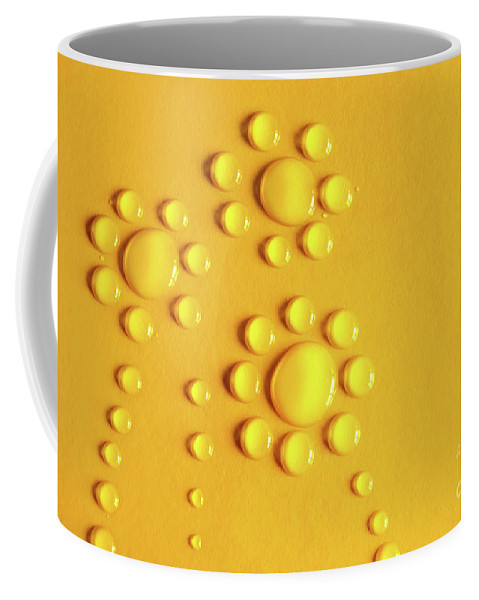 Abstract Coffee Mug featuring the photograph Water Flowers by Carlos Caetano