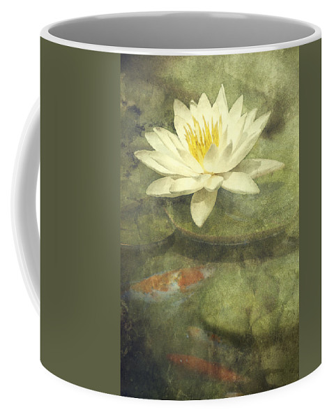 Water Lily Coffee Mug featuring the photograph Water Lily by Scott Norris
