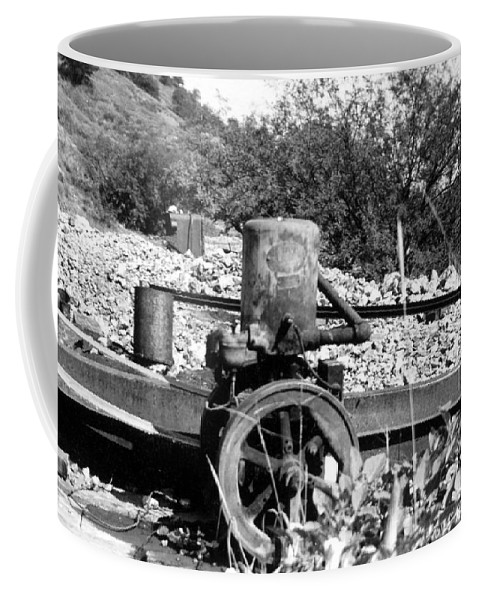 Arizoan Coffee Mug featuring the photograph Water Pump by Larry Ward