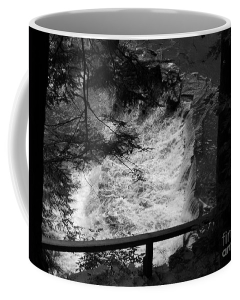 Waterfall Coffee Mug featuring the photograph Waterfall by Michael Krek