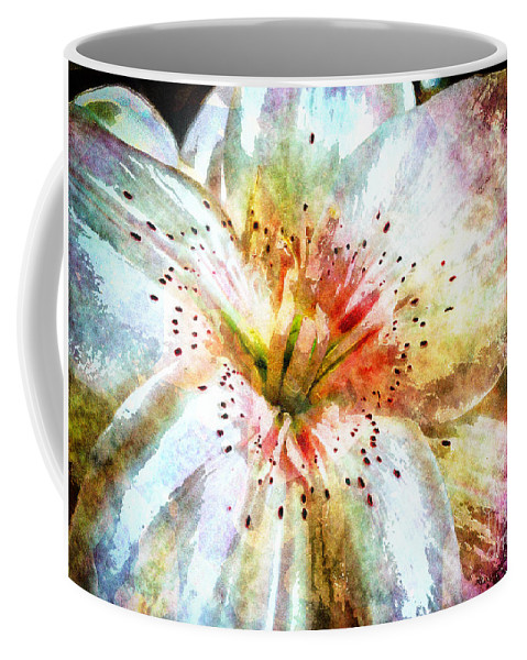Flower Coffee Mug featuring the photograph Waterflower by Davy Cheng