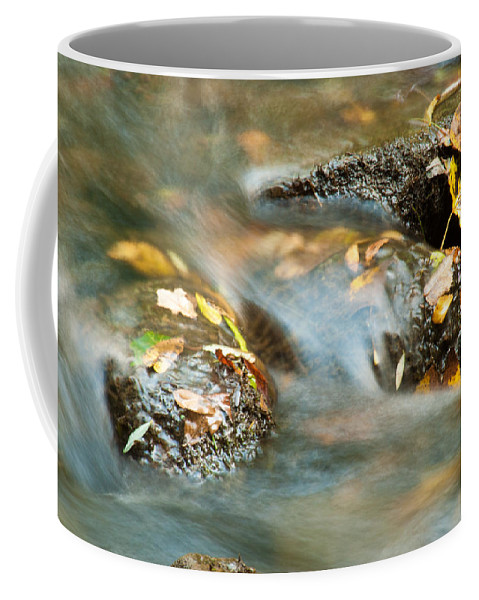 Optical Playground By Mp Ray Coffee Mug featuring the photograph Waterlogged by Optical Playground By MP Ray