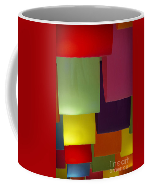 Color Coffee Mug featuring the photograph Waving The Color by Margie Hurwich