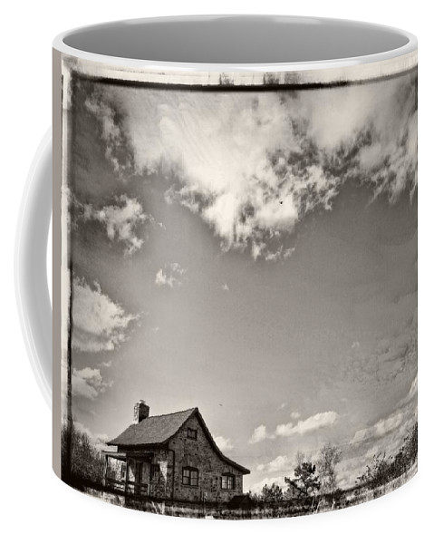 Clouds Coffee Mug featuring the photograph Way Up In The Clouds by Alice Gipson