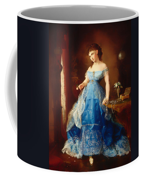 Painting Coffee Mug featuring the painting We Both Must Fade by Mountain Dreams