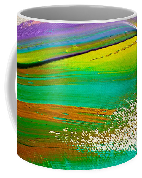 Paint Coffee Mug featuring the painting We Paint 5 by Jacqueline Athmann