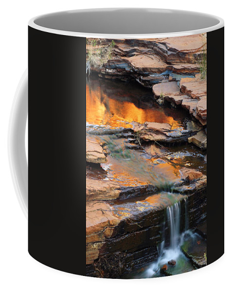 Weano Gorge Coffee Mug featuring the photograph Weano Gorge - Karijini Np 2am-111671 by Andrew McInnes