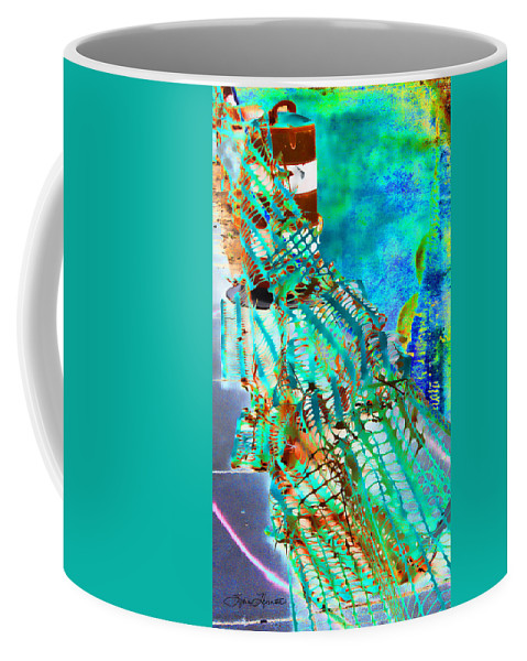 School Coffee Mug featuring the photograph Web I by Sylvia Thornton