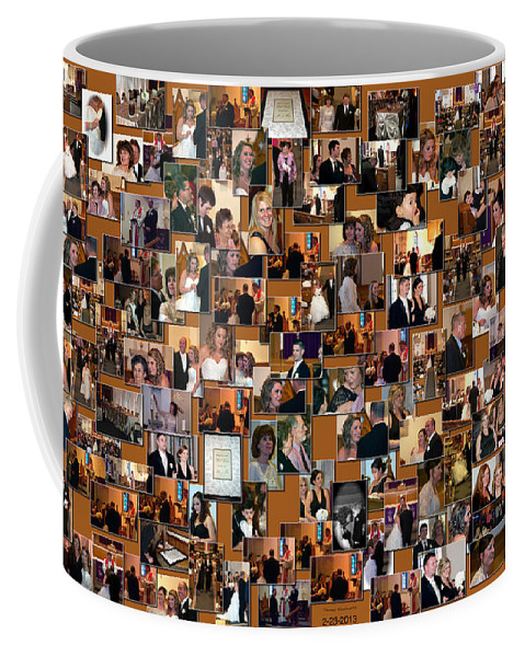 Thomas Woolworth Coffee Mug featuring the photograph Wedding Collage by Thomas Woolworth