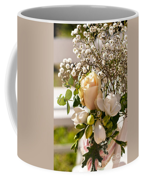 Wedding Coffee Mug featuring the photograph Wedding Posy by Rick Piper Photography
