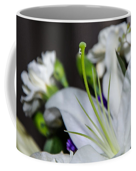 Weeping Lily Coffee Mug featuring the photograph Weeping Lily by Susan McMenamin
