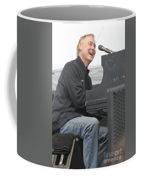 Musician Coffee Mug featuring the photograph Weir Hornsby And Marsalis by Concert Photos