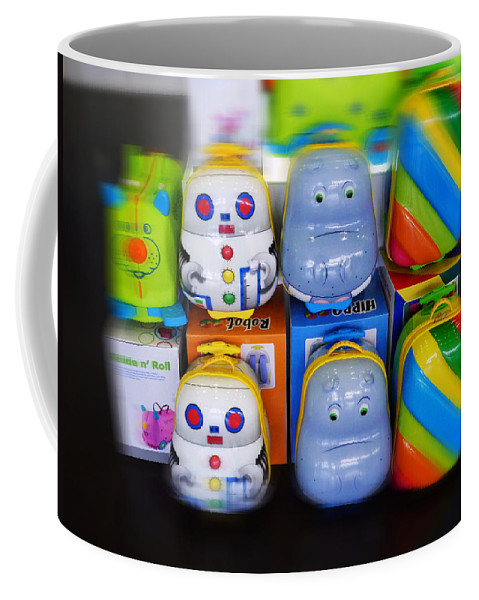 Toys Coffee Mug featuring the painting Welcome Home by Charles Stuart