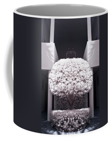3scape Photos Coffee Mug featuring the photograph Welcome Tree Infrared by Adam Romanowicz