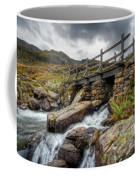 Bridge Coffee Mug featuring the photograph Welsh Bridge by Adrian Evans