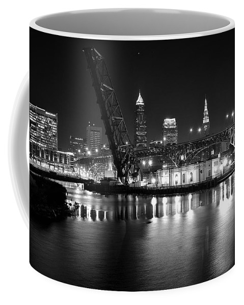 Desolate Coffee Mug featuring the photograph West Bank Of The Flats by Frozen in Time Fine Art Photography