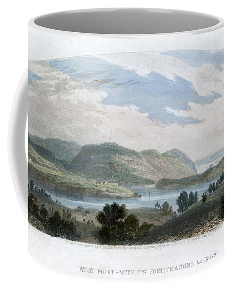1780 Coffee Mug featuring the photograph West Point, 1780 by Granger