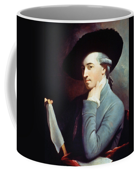 1771 Coffee Mug featuring the painting West Self-portrait by Granger