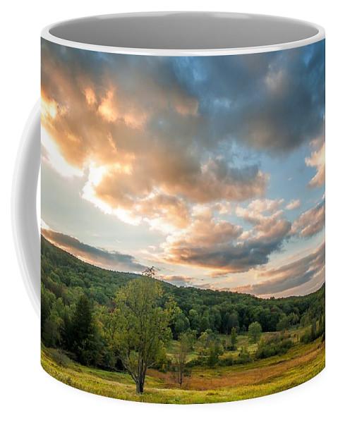 Canaan Valley Coffee Mug featuring the photograph West Virginia Sunset by Steve Harrington