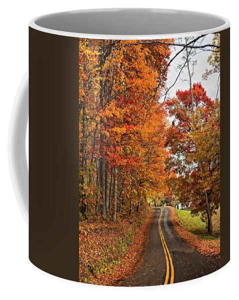West Virginia Coffee Mug featuring the photograph West Virginia Wandering by Steve Harrington
