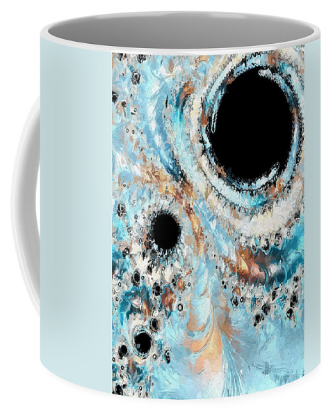Coffee Mug featuring the digital art What Do You See - One by Heidi Smith