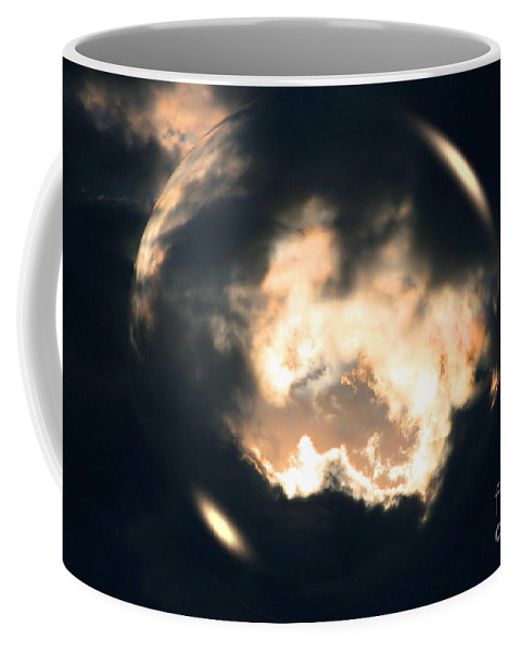 Sharon Mau Coffee Mug featuring the photograph What Holds The Sky Up Under The Wind by Sharon Mau