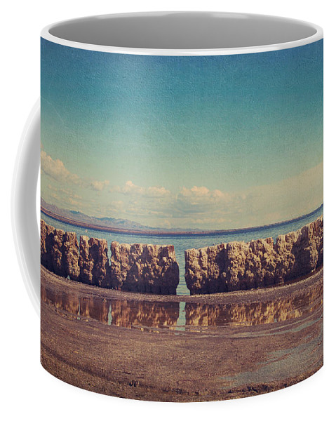 Salton Sea Coffee Mug featuring the photograph What Used To Be by Laurie Search