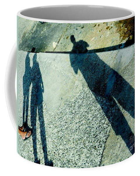 Color Coffee Mug featuring the photograph When Worlds Collide by Amar Sheow