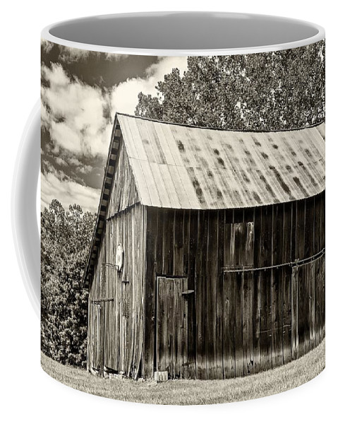 March Madness March Coffee Mug featuring the photograph Where March Madness Begins Sepia 2 by Steve Harrington