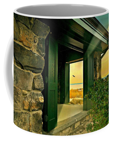 Landscape Coffee Mug featuring the photograph Where The World Turns by Diana Angstadt