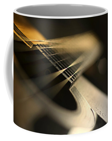 Laura Fasulo Coffee Mug featuring the photograph While My Guitar Gently Weeps by Laura Fasulo