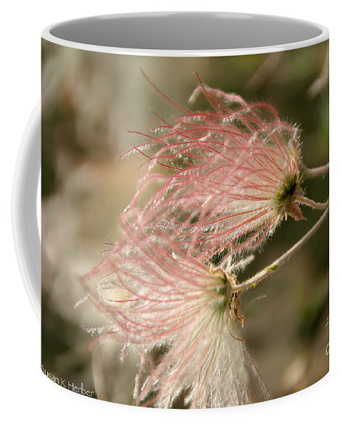 Flower Coffee Mug featuring the photograph Whispering Pink by Susan Herber