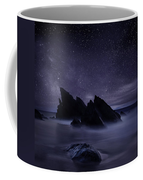 Night Coffee Mug featuring the photograph Whispers of eternity by Jorge Maia