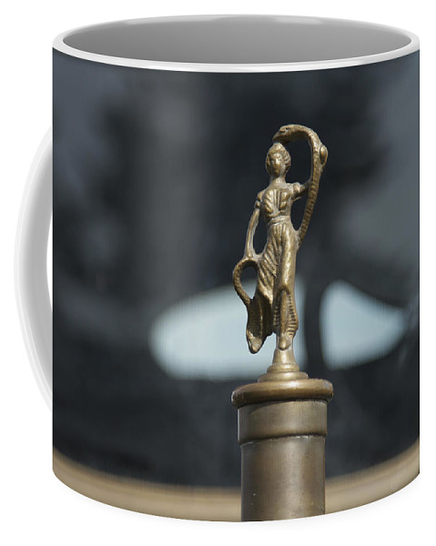 Glenmoor Coffee Mug featuring the photograph White Motors by Jack R Perry